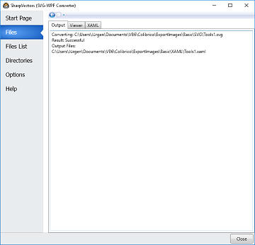 Converting SVG to XAML